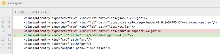 android-project-classpath-file-classpathentry-exported-equals-true-removed