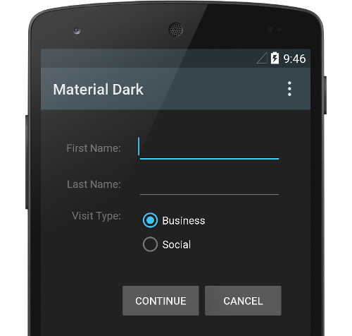 material-design-dark-material-theme