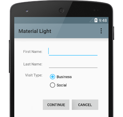 material-design-light-material-theme