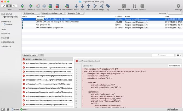 git-code-management-after-refresh-adding-gitignore-file