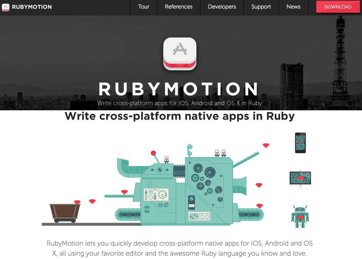 cross-platform-native-app-development-framework-rubymotion