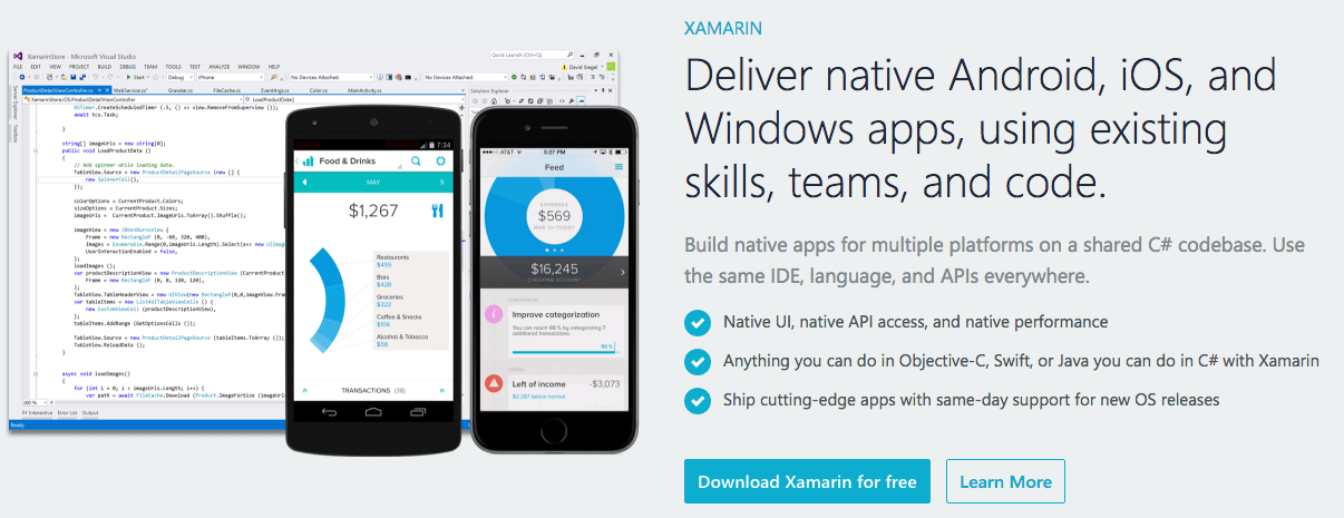 cross-platform-native-app-development-framework-xamarin
