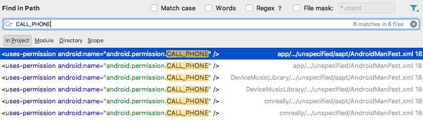 android-permission-call-phone-in-global-search